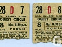 Looking to buy a Beatles original ticket or stub from