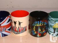 Beatles HELP & ABBEY ROAD Coffee Mug lot     2 Beatles for sale  Ontario