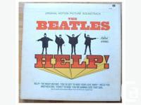 Beatles Help! Movie Soundtrack. Gatefold cover. Green