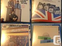 27 Beatles records Good condition, in protective