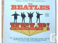 Beatles Help! Flick Soundtrack. Gatefold cover.