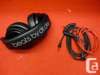 beats by dr.dre headphones with 2 beats headphone