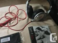 Barely used Beats Pro authentic headphones with all