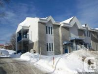 Condo Charlesbourg Quebec à vendre 2 chambres -