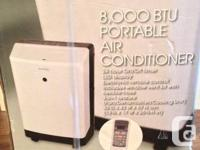 Beaumark Portable Air Conditioner  8000 BTU's Still in