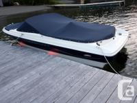 Our 2002 Bayliner bowrider is in wonderful condition.