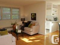 1 Bedroom in a well maintained quiet low rise building
