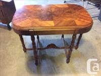 This is a gorgeous 1930's table we have had in our home