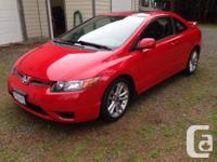 Make Honda Model Civic Si Colour Red Trans Manual kms