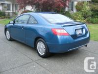 Make Honda Model Civic Coupe Colour Blue Trans Manual