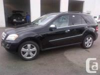 """Flawless""  This is a Beautiful Black Benz ML 350!!!"