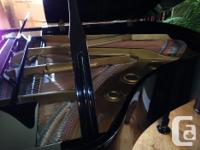 "This lovely 5'10"" Hyundai Grand Piano (AD0912, High"
