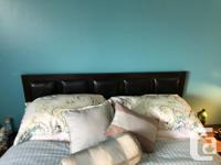 Beautiful set that includes a queen size bed (frame and