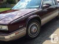 For sale beautiful Eldorado Cadillac. Shows like new.