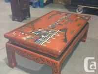 Includes table and cabinet Great condition Lots of