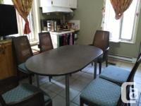 Beautiful, Antique Wood Dinning Table (Oval shape) with