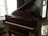 Baby Grand Piano  Nice sound and warm full tone. Good