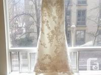 I initially bought this dress when I was involved a