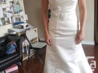 Bridal gown used but in perfect shape. It will be send
