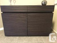 Beautiful buffet unit. Versatile for any room in the