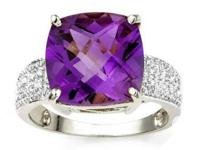 Offering a stunning Ring with a substantial 6.5 Carat
