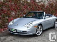 Make Porsche Model 911 Carrera Year 2003 Colour Silver