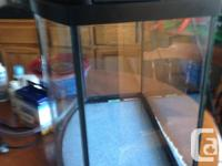 I'm selling this great fish tank. I had it running for