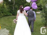 I'm selling my beautiful custom wedding dress, that I