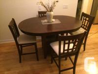 I moved to a new place and would like to sell my dining