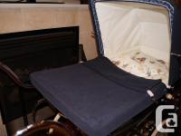 This lovely high wheeled carriage pram will take a