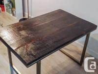 Rustic harvest dining table - Locally made from Ontario