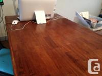 Lovely country/harvest kitchen table with solid pine