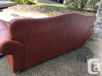 This sofa is in excellent condition and the leather