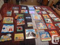 Collection of 35 Board books Worth over $200 Includes: