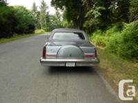 Make Lincoln Year 1983 Colour grey on grey Trans