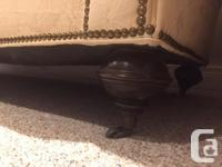 This beautiful couch is looking for a new home ASAP. We