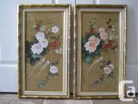 # Flower vase oil painting by Bernice L Taylor - $30
