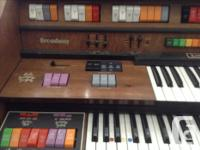 Broadway Kimball Double keyboard with music box and