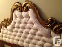 This is a beautiful king size ornate headboard. Very