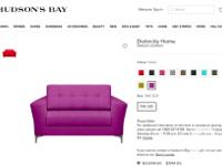 I am selling a beautiful purple loveseat purchased in