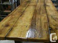 I have a beautiful White Pine Harvest Table for sale.