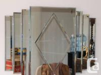 Beautiful Retro 1930s Style Mirror Very unique &