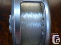 The Islander LX 4.5 Reel retails for $850 + tax. This