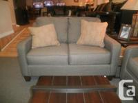 This beautiful and very stylish Sofa/Love set is priced
