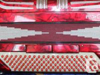 Lovely Regal Accordion: -FULL BASS buttons -5 variation