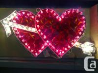 BEAUTIFUL AND BRAND NEW VALENTINE'S LED LIGHTED SIGNS