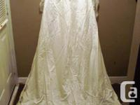 I have a Beautiful Silk Wedding Dress and Train for