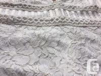 Forever 21 white lace dress, never worn. It gives a