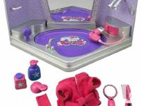 Tea cup piggy beauty spa play set. Perfect for barbies
