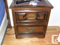 Bedroom dresser set with mirror (9 drawers) 63x31x16,